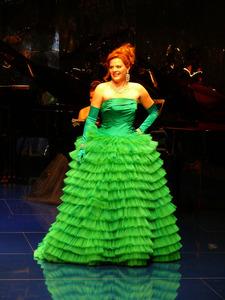 Sopan Bianca Koch als Gräfin Zedlau (Wiener Blut) im Prinzregententheater