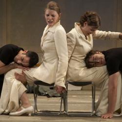 Sopran Bianca Koch singt Cosi fan tutte im Prinzregententheater