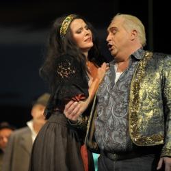 Sopran Bianca Koch als Saffi in der Zigeuerbraron