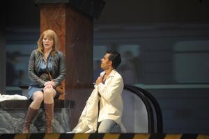 In Eugen Onegin singt Binaca Koch die Tatjana