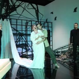 Rape of Lucrezia. Sopran Bianca Koch als Female Chor
